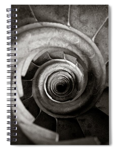 Sagrada Familia Steps Spiral Notebook