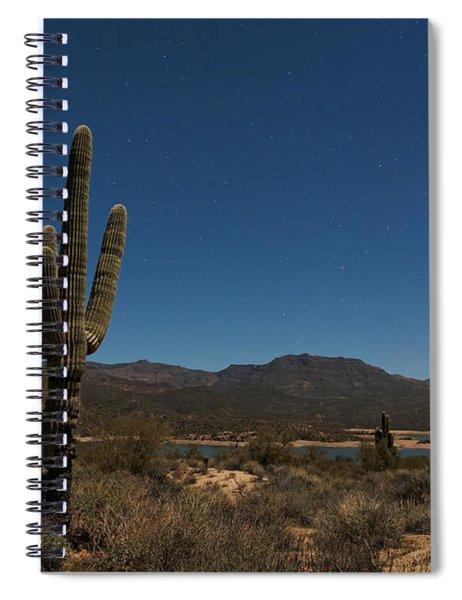 Saguaro Near Bartlett Reservoir Spiral Notebook