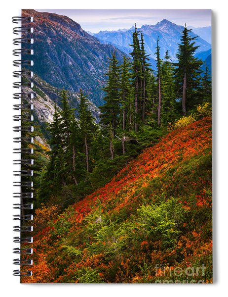 Sahale Arm Spiral Notebook