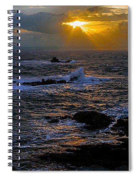 Sail Rock Sunrise Spiral Notebook