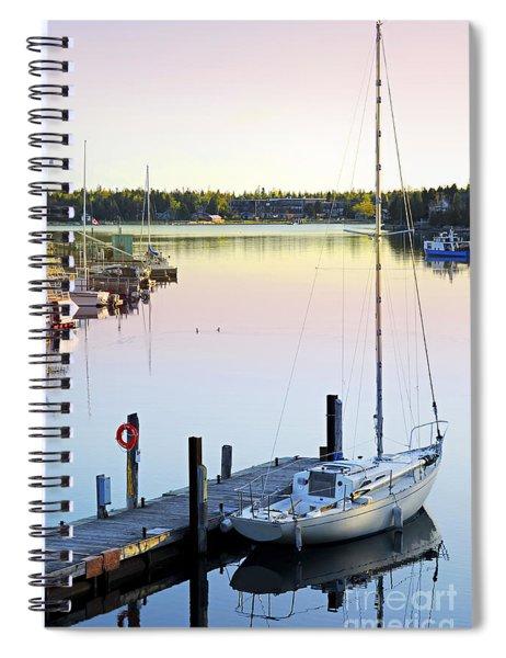 Sailboat At Sunrise Spiral Notebook