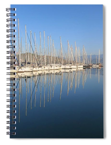 Sailboat Reflections Spiral Notebook