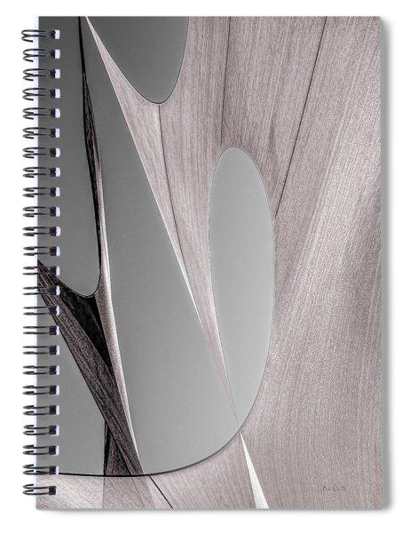 Sailcloth Abstract Number 2 Spiral Notebook