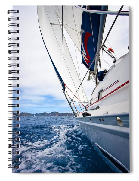 Sailing Bvi Spiral Notebook