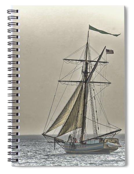 Sailing Off Spiral Notebook