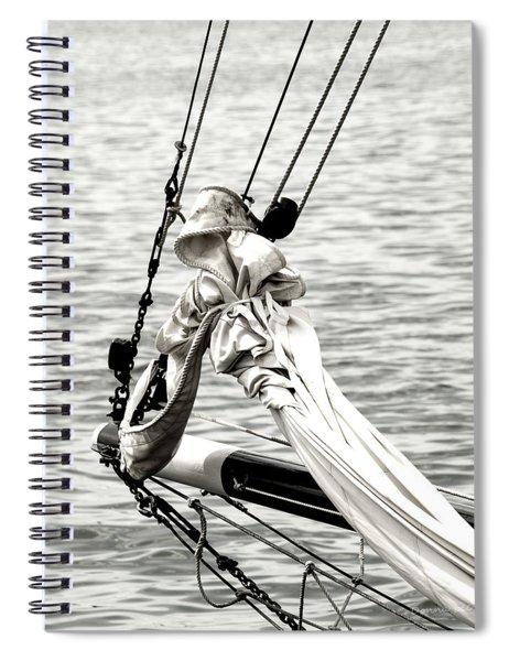 Sailing The Seven Seas Spiral Notebook