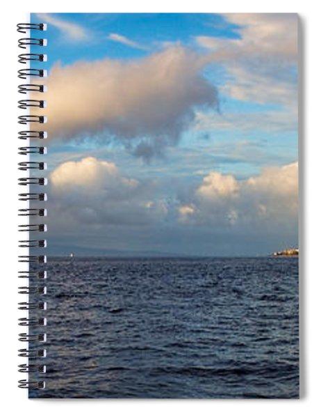 Sailing To Lahaina Spiral Notebook