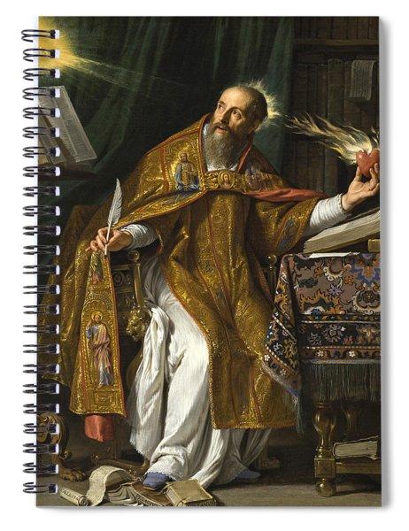 Saint Augustine Spiral Notebook