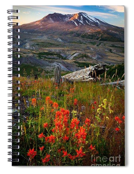 Saint Helens Paintbrushes Spiral Notebook