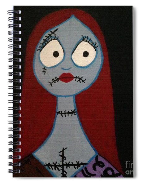 Sally Waits For Jack Spiral Notebook