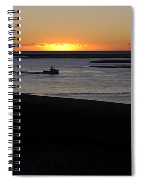 Salty Sunrise Spiral Notebook