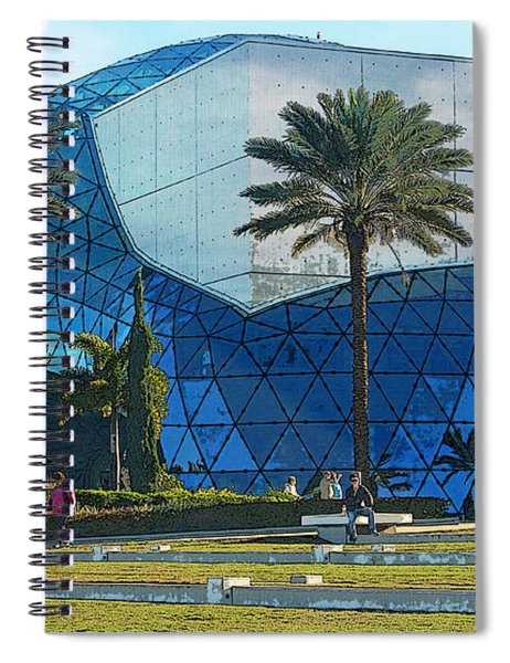 The Salvador Dali Museum Spiral Notebook