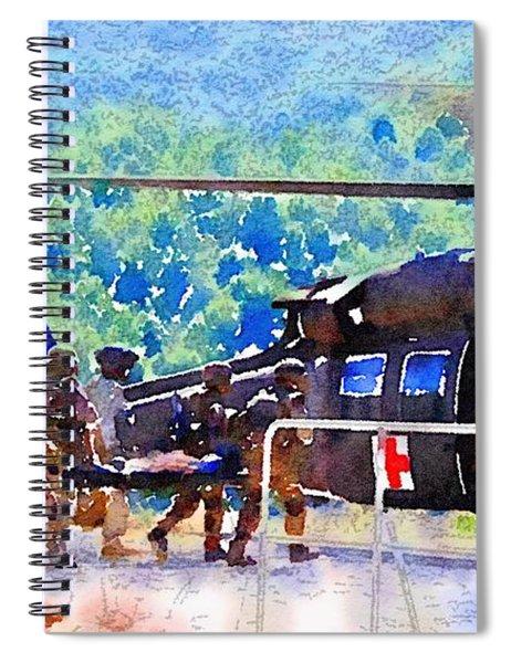 Salvation Spiral Notebook