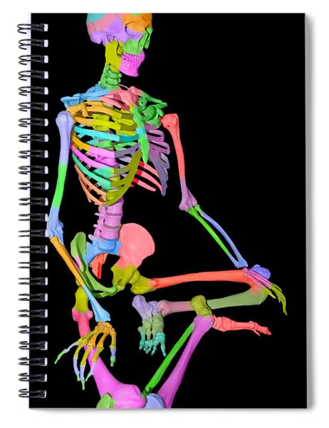 Sam Shows His Colors II Spiral Notebook