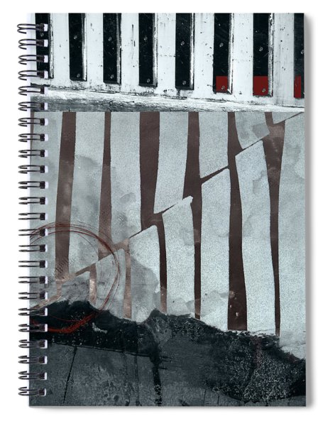 San Andreas Fault Spiral Notebook