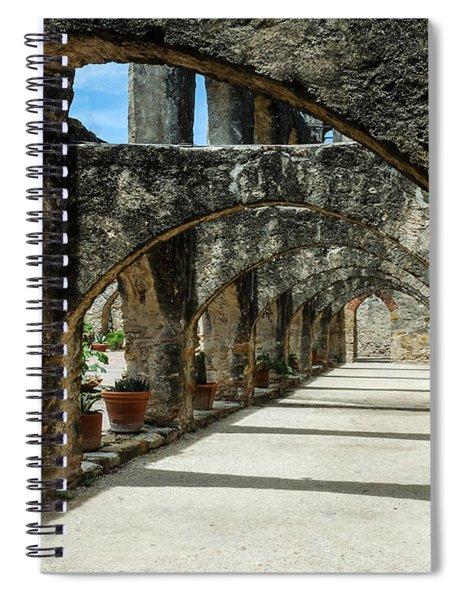 San Antonio Mission Arches Spiral Notebook
