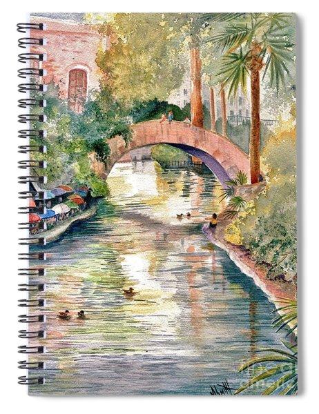 San Antonio Riverwalk Spiral Notebook