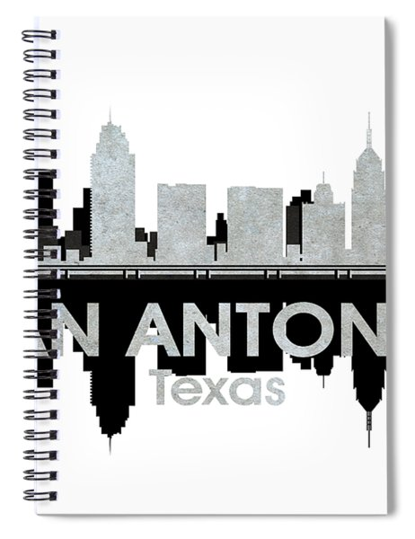 San Antonio Tx 4 Spiral Notebook