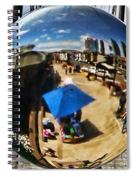 San Diego Round Up By Diana Sainz Spiral Notebook