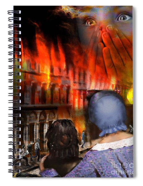 San Francisco Fire Spiral Notebook