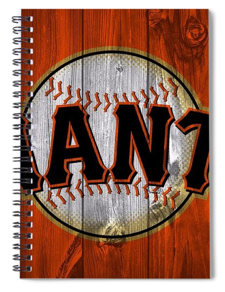 San Francisco Giants Barn Door Spiral Notebook