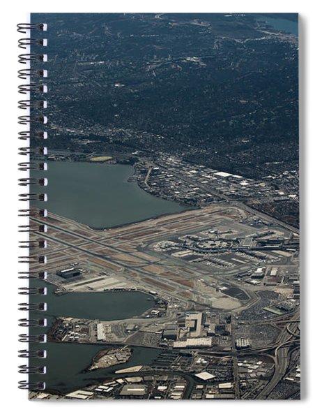 San Francisco International Airport Spiral Notebook