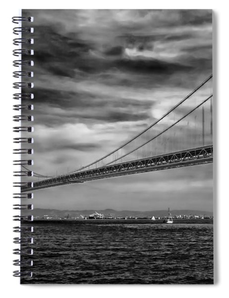 San Francisco - Oakland Bay Bridge Spiral Notebook
