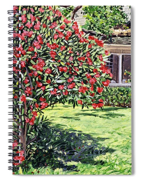 San Francisco Oleander Spiral Notebook