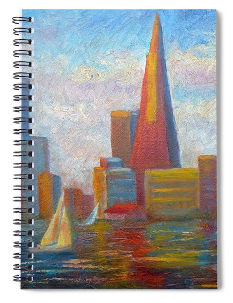 San Francisco Reflections Spiral Notebook
