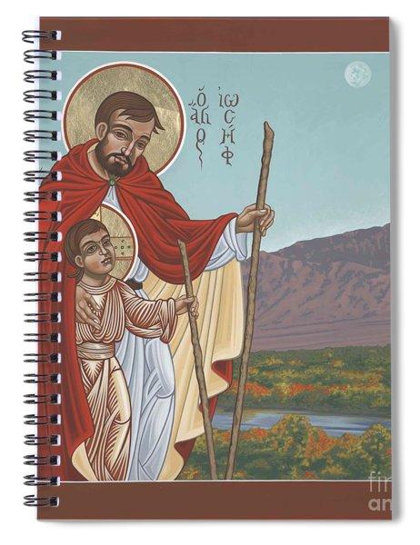 San Jose En El Rio Grande 268 Spiral Notebook