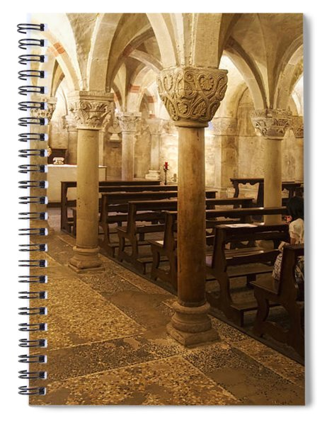 San Michele Chapel Spiral Notebook