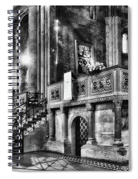 San Michele Toward The Altar Spiral Notebook