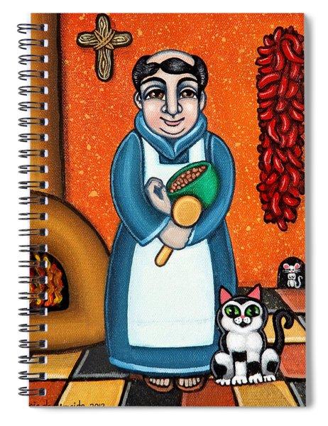 San Pascual And Felix Spiral Notebook