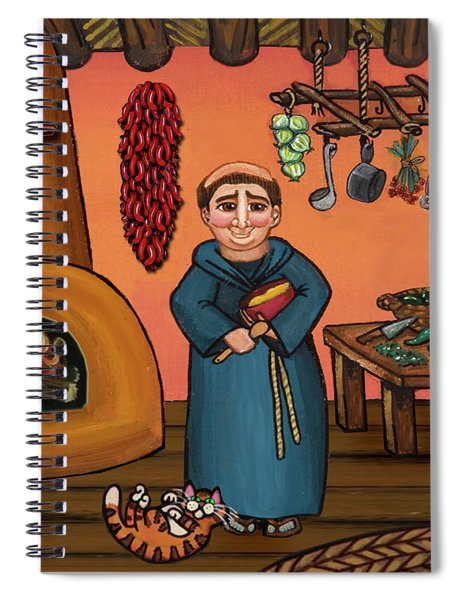 San Pascual And Vigas Spiral Notebook