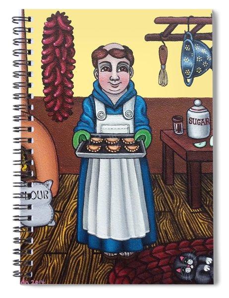 San Pascuals Empanaditas Spiral Notebook
