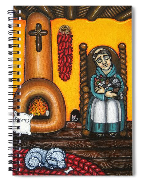 San Pascuals Nap Spiral Notebook