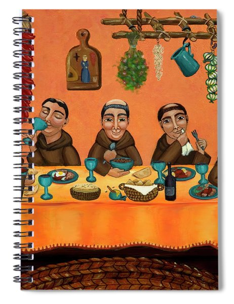 San Pascuals Table Spiral Notebook