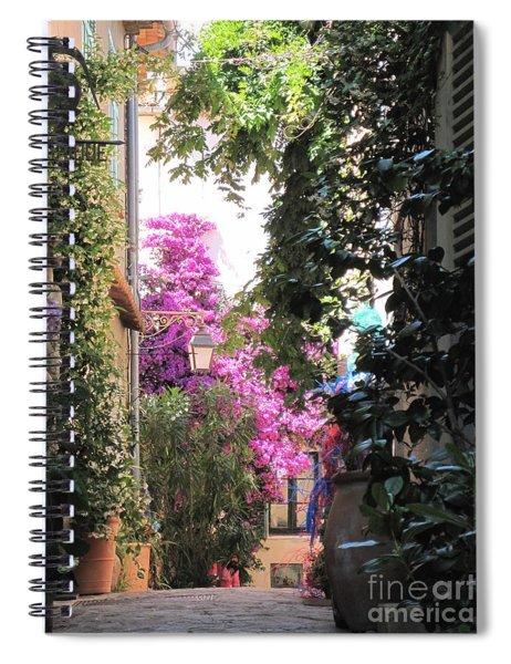 St Tropez Spiral Notebook