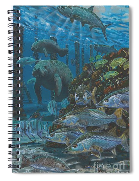 Sanctuary In0021 Spiral Notebook