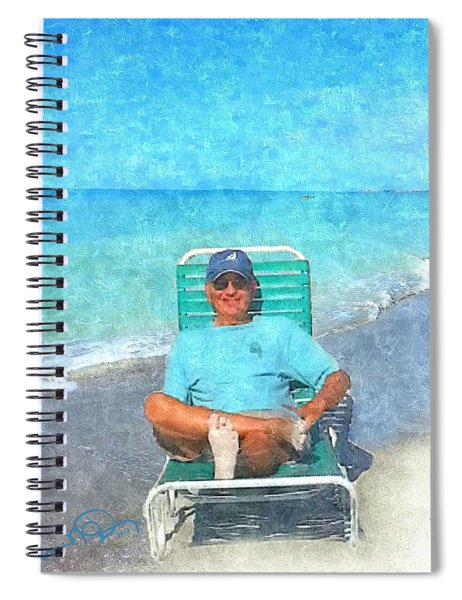 Sand Between Your Toes Spiral Notebook