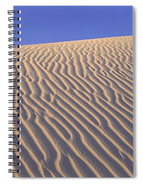 Sand Dunes Death Valley National Park Spiral Notebook