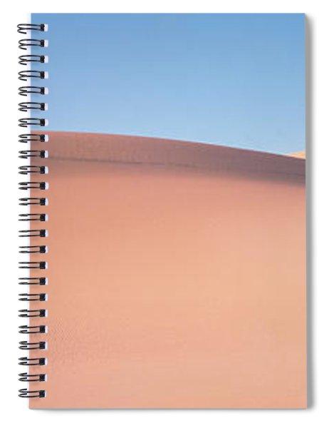 Sand Dunes Death Valley Nv Usa Spiral Notebook