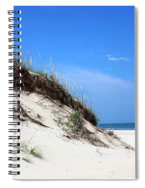 Sand Dunes Of Corolla Outer Banks Obx Spiral Notebook