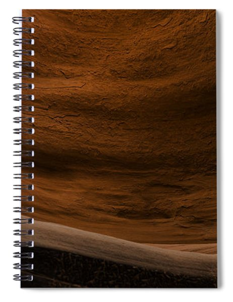 Sandstone Flow Spiral Notebook