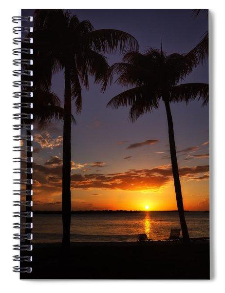 Sanibel Island Sunset Spiral Notebook