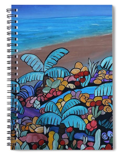 Santa Barbara Beach Spiral Notebook