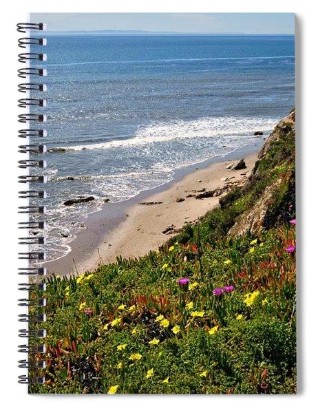 Santa Barbara Beach Beauty Spiral Notebook