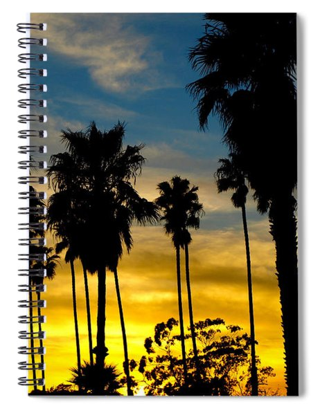 Santa Barbara Sunset Spiral Notebook