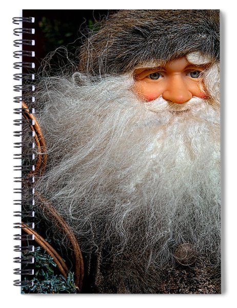 Santa Claus Spiral Notebook