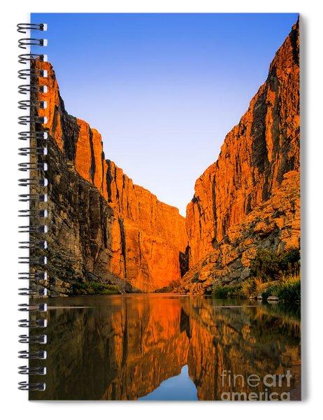 Santa Elena Canyon Spiral Notebook